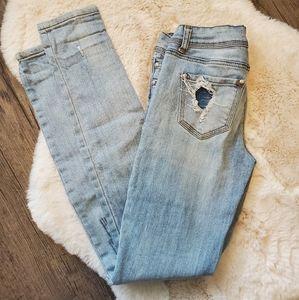 Almost famous premium skinny jeans